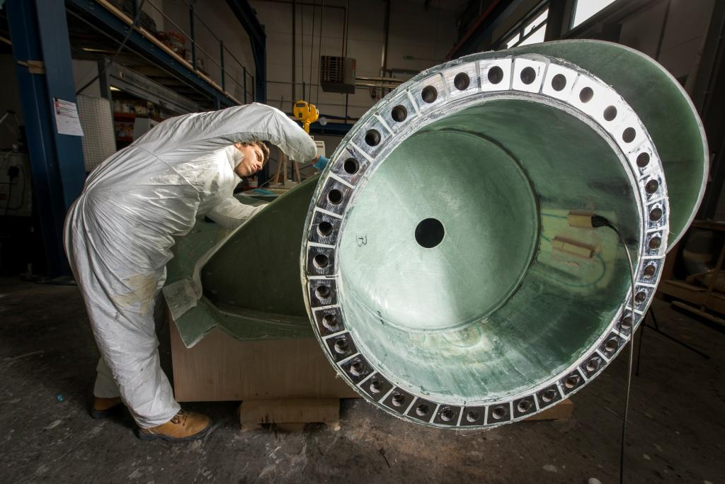Tidal turbine blade roor