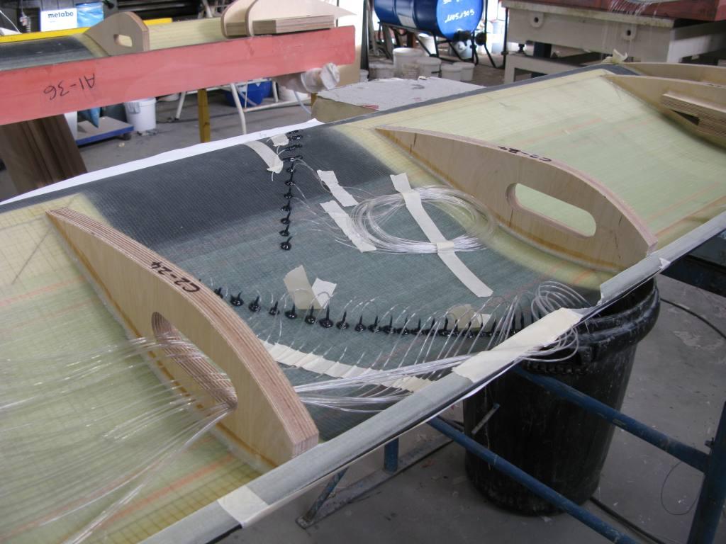 aerofoil model in build
